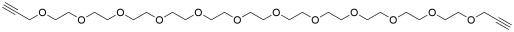 Bis-propargyl-PEG12