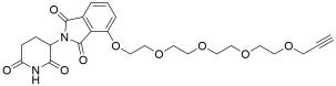 Thalidomide-O-PEG4-Propargyl