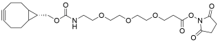 endo-BCN-PEG3-NHS ester