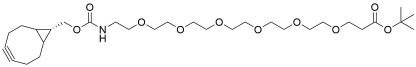 endo-BCN-PEG6-t-butyl ester
