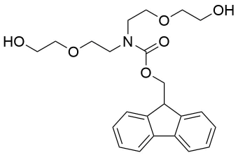Carbamic-acid,C29bis[2-(2-hydroxyethoxy)ethyl],9H-fluoren-9-ylmethyl ester-(9CI)